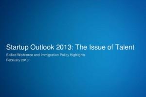 Startup Outlook 2013-SVB