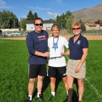 Coaches Liv Jensen & Jon Piggins, Sandy Kelly - President,Treasurer