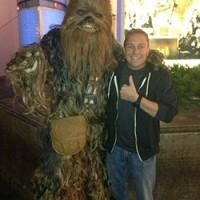 Jon Piggins & Chewbacca