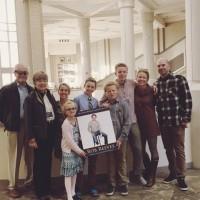 Reeves Family celebrates Rob's IBLOY award