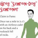 Greg Schreiner Infographic